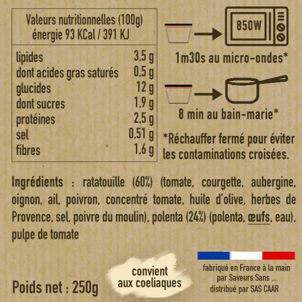 Lasagnes de polenta végétariennes 1