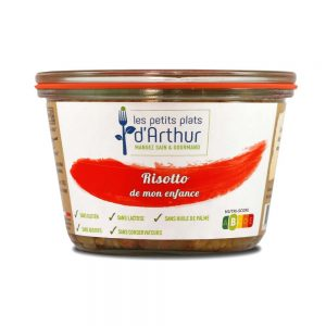 Risotto from my childhood - gluten-free, lactose-free, additive-free, preservative-free and palm oil-free