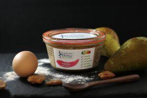 clafoutis aux poires sans lactose