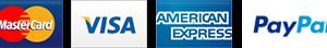 Paiement Stripe : VISA, MasterCard, American express, et Paypal