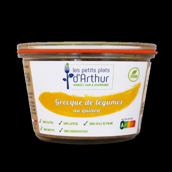 Grecques de légumes au quinoa sans gluten ni lactose