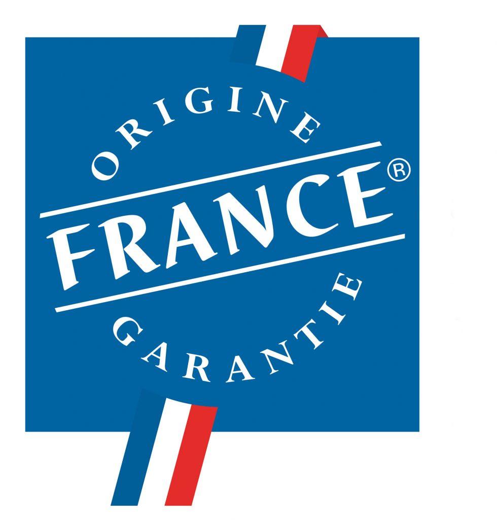 Ceci est le logo du label Origine France Garantie