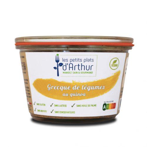 Grecque de légumes au quinoa les PPA
