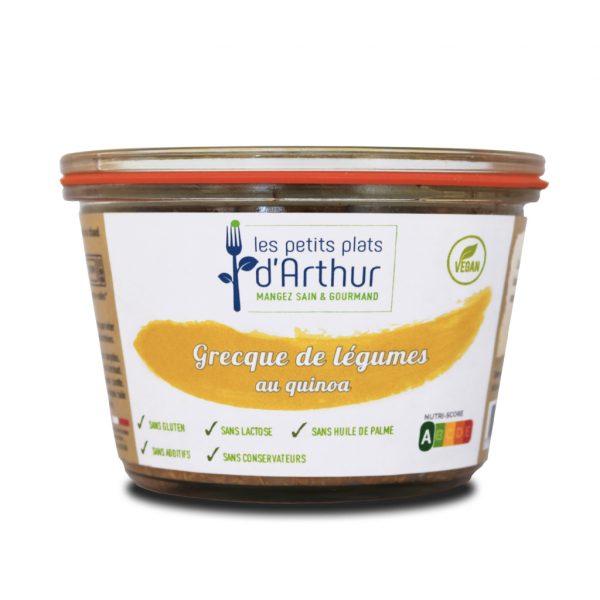 Grecque de légumes au quinoa
