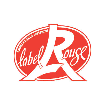 The logo that can be found on the back of the products that are labeled.