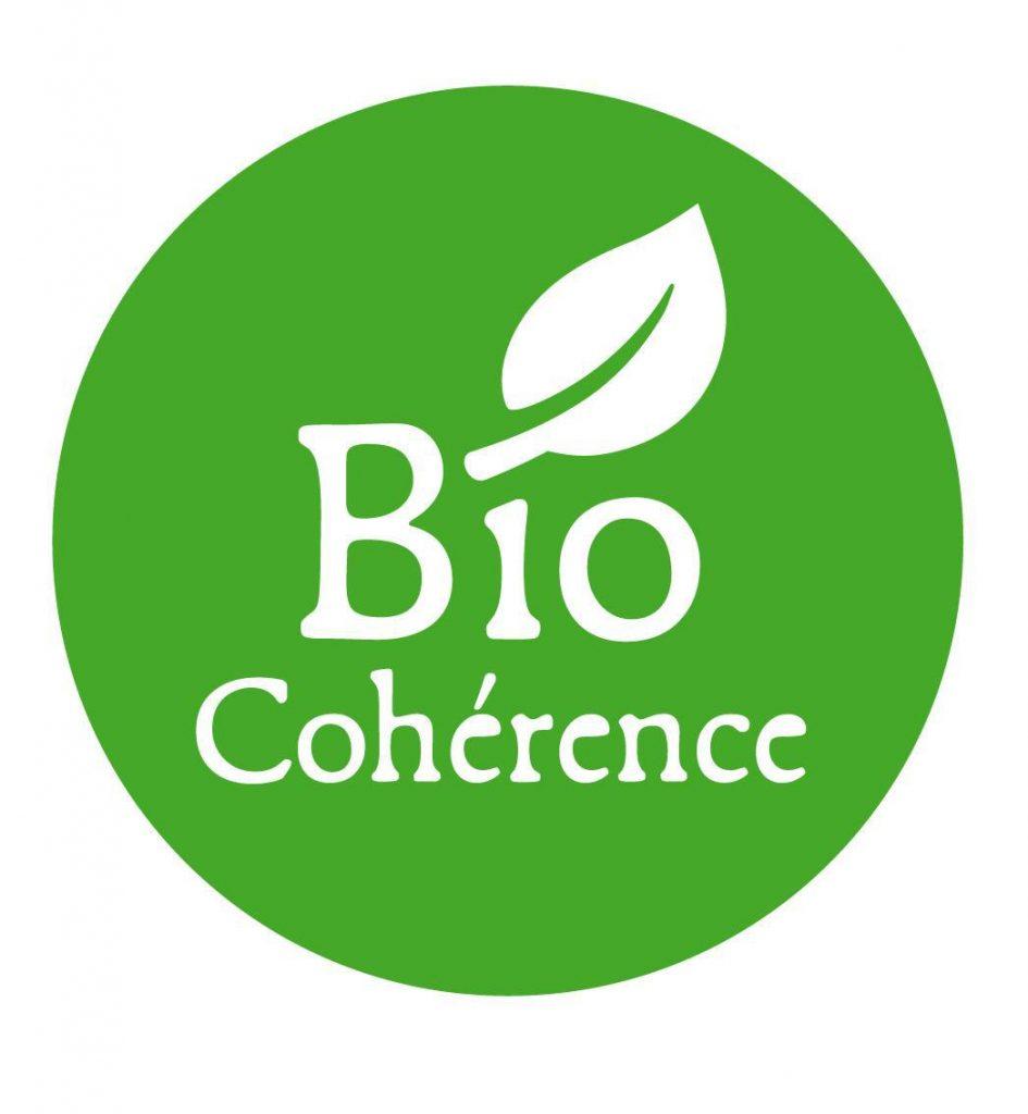 Logo du label Bio Cohérence créé en 2010.