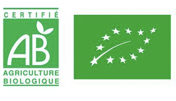 Logo of the AB label created in 1993 by the Ministry of Agriculture.