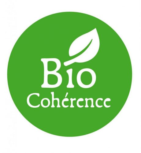 """Logo of the """"Bio Cohérence"""" label created in 2010."""